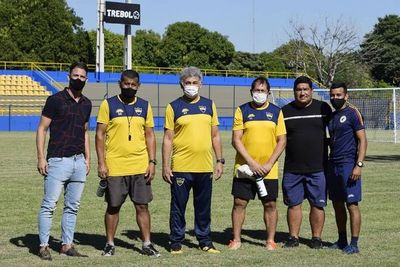 Gabino Román renunció como técnico de Sportivo Trinidense