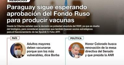 La Nación / LN PM: Las noticias más relevantes de la siesta del 10 de mayo