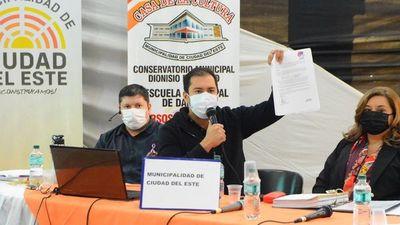 Intendente de CDE replica informe de Contraloría Ciudadana