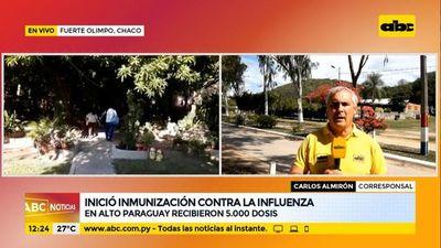 Resistencia a vacunación anticovid en el Alto Paraguay