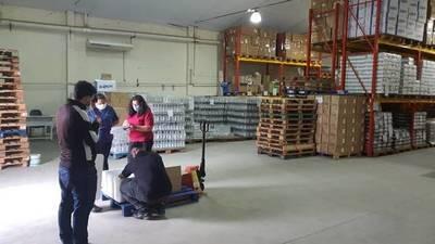 Dos toneladas de medicamentos, de España a Paraguay