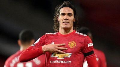 Edinson Cavani renueva con el Manchester United hasta 2022
