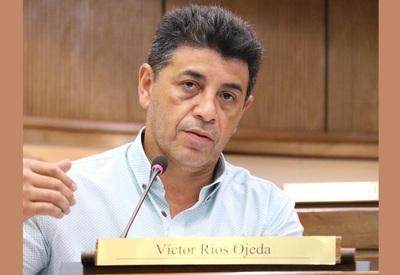 """""""Ley Garrote"""": senador liberal Víctor Ríos afirma que el Gobierno de Abdo perdió """"totalmente legitimidad"""""""