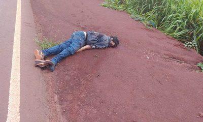Identifican cuerpo sin vida de hombre hallado al costado de la Ruta Py 07