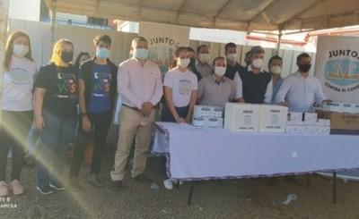 Juntos Contra el Covid: Entregan medicamentos al Hospital Regional