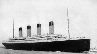 Analizan carta hallada en una botella para comprobar si la escribió una niña que iba en el Titanic