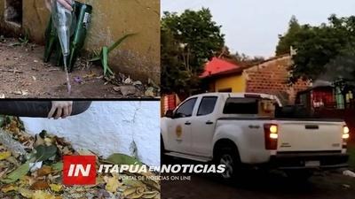 SENEPA: CON UNAS 167 NOTIFICACIONES, EQUIPOS REALIZAN PROTOCOLO DE BLOQUEO Y FUMIGACIÓN.