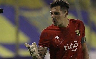 Gaspar Servio, el segundo goleador de Guaraní en el Apertura