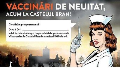 "Crónica / ""Drácula"" ofrece pinchazo gratis contra coronavirus"