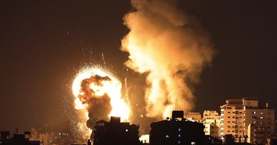 La Nación / Bombardeos israelíes en Gaza, en respuesta a ataque de Hamas