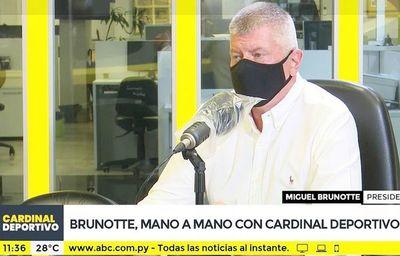 "Brunotte ""blinda"" al técnico"