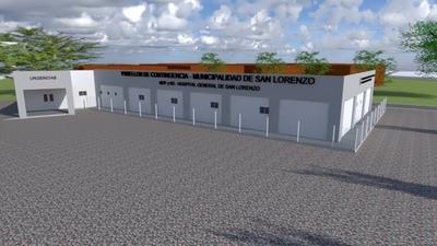 San Lorenzo anuncia construcción de un pabellón de contingencia