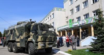La Nación / Al menos 7 muertos en un tiroteo en una escuela de Rusia