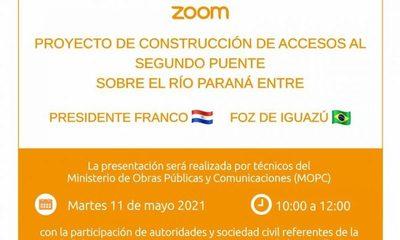 MOPC realiza hoy audiencia para informar sobre detalles de obras complementarias en Franco