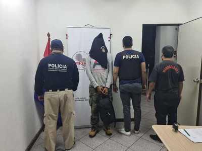 Expulsan del país a brasileño buscado por tráfico de drogas y otros delitos