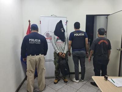 Expulsan del país a ciudadano brasileño por varios antecedentes