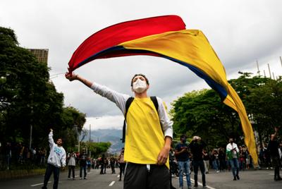 Embajador de Colombia dice que protestas son manejadas por involucrados a socialismo del siglo XXI