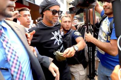 Caso Ronaldinho: acusan y piden juicio para 14 personas del esquema criminal