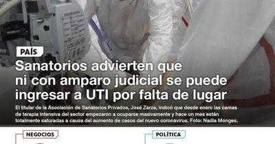 La Nación / LN PM: Las noticias más relevantes de la siesta del 11 de mayo
