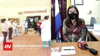 DRA. MARIA TERESA BARAN ASUME DPTO. DE DESCENTRALIZACIÓN.