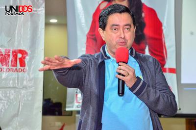 Núñez se reunió con adherentes de varias seccionales coloradas