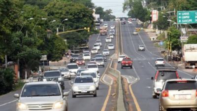 MOPC reasigna kilometrajes en rutas PY 01, 02 y 03