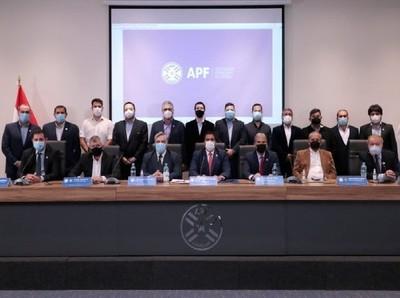 APF asegura que se respetará el contrato de televisación del fútbol paraguayo