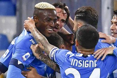 El Nápoli golea y se sube al segundo puesto de la Serie A