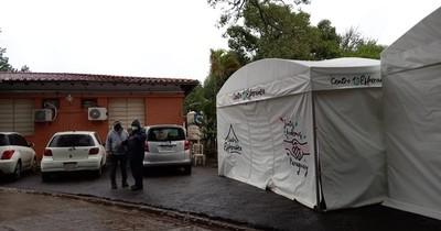"""La Nación / Familiares de internados en Lambaré: """"Estamos bien gracias a la solidaridad de la gente"""""""