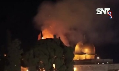 Bombardeos masivos entre Israel y Palestina