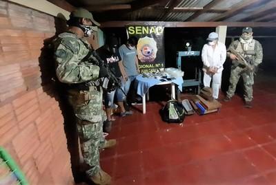 En 100 días de gestión la SENAD ha recabado más de US$ 127 millones en decomiso de drogas
