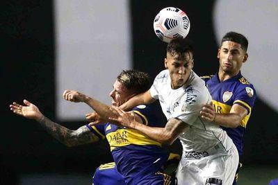 Santos gana y desaloja a Boca del segundo lugar en el Grupo C