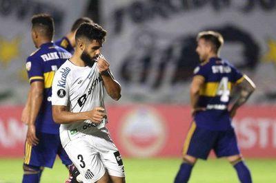 Santos gana y desaloja a Boca del segundo lugar