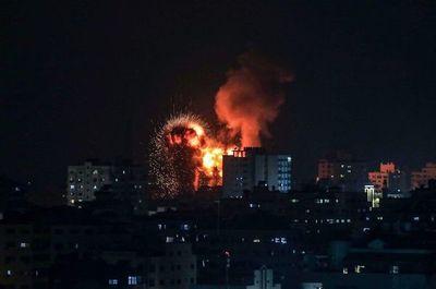 Siguen los ataques entre Israel y extremistas palestinos de Hamas