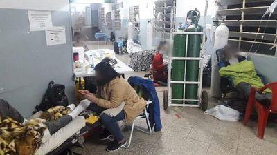 Hospital de Encarnación  está colapsado