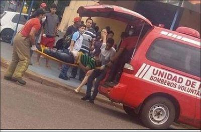 Hieren con disparos a un hombre frente a una carnicería en Pedro Juan