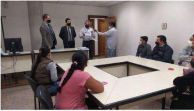 Juzgado entrega aporte económico a familias de internados por COVID-19