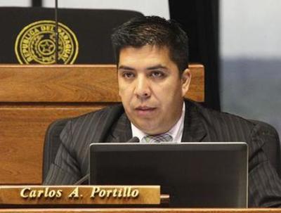 Diputados impulsarán pérdida de investidura de Carlos Portillo, tras audios filtrados