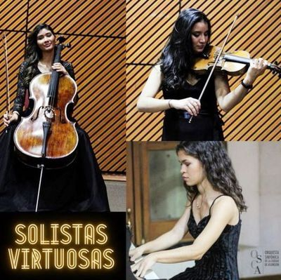 Solistas virtuosas, hoy con la OSCA