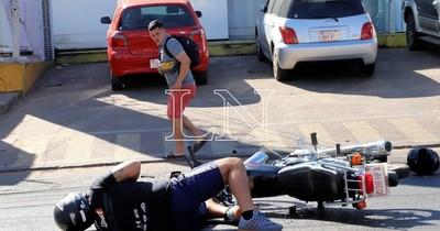 La Nación / Hospital de Trauma: motociclistas encabezan cifra de lesionados en siniestros viales