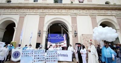La Nación / Asociación de Enfermería emplaza a Salud Pública por varias reivindicaciones