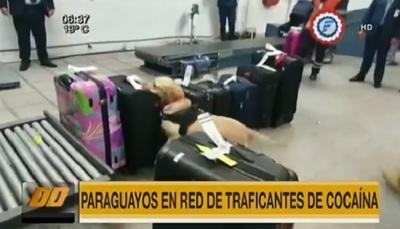 Detienen a funcionarios de Dinac sospechosos de traficar cocaína