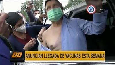 Euclides se vacuna y anuncia nuevos lotes de dosis
