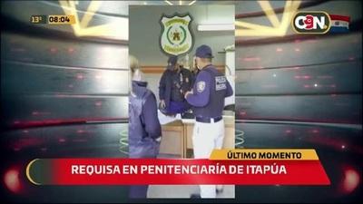 Requisa en la Penitenciaria de Itapúa