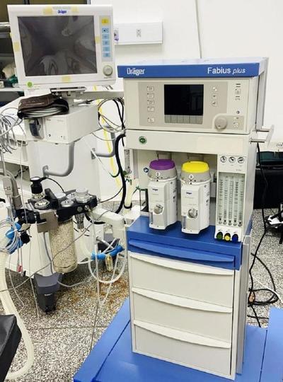 Hospital de PJC con nueva máquina de anestesia – Prensa 5