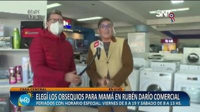 Rubén Darío Comercial: Elegí los mejores obsequios para mamá