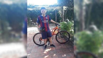 LA FOTO: Joven paraguayo le robó su propia bicicleta al ladrón que se la había hurtado