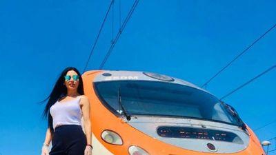 """Paraguaya en España lleva los trenes: """"Es una increíble experiencia"""""""