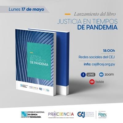 """El CEJ lanzará el libro """"Justicia en tiempos de pandemia"""""""