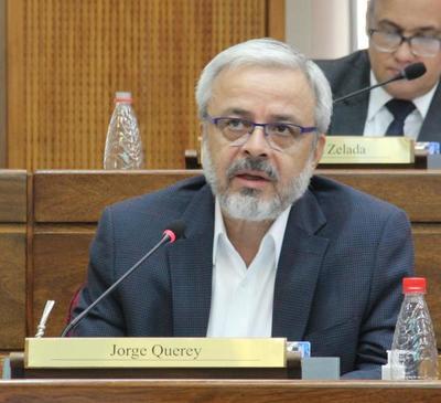 Senador Querey pide rechazar proyecto del Ejecutivo por inconstitucional e inaplicable